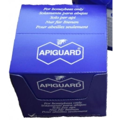 Apiguard trays, Box of 10 trays (enough to treat 5 colonies) Varroa Treatment