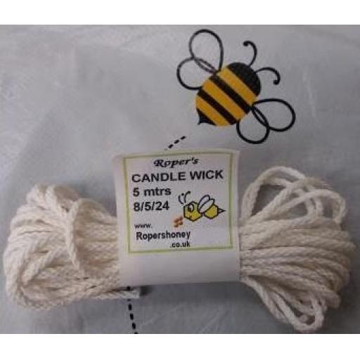 Candle Wick 8/5/24 5xmetres